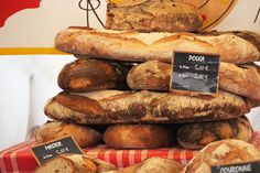 Ah, the most amazing and delicious of smells, wafting up from French bakeries in the morning.