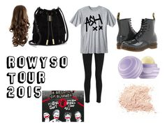 """""""ROWYSO Tour 2015"""" by mchelclfford on Polyvore featuring rag & bone, Dr. Martens, Eos and Vince Camuto"""