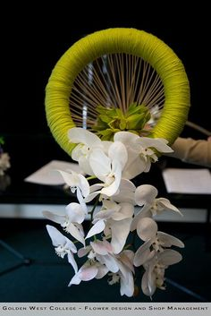 Avant-garde wedding bouquet by GWC Floral Design, via Flickr