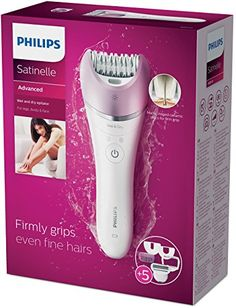 Philips Satinelle Advanced  Wet & dry epilator, 6 accessories 4