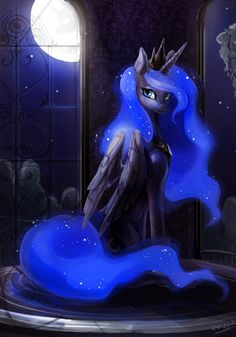 Princess Luna by maocha.deviantart.com on @DeviantArt