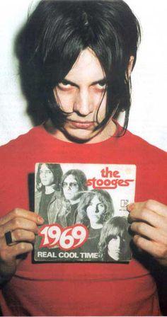 "Jack White (White Stripes), and prefert : 45"" of Stooges ""1969"""