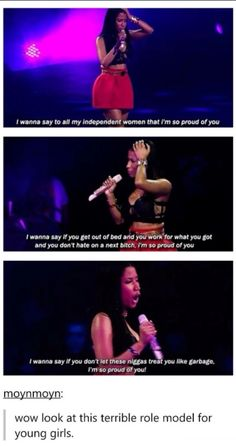 Faith In Humanity Restored, Intersectional Feminism, Badass Women, Equal Rights, Patriarchy, Mood, Social Issues, Nicki Minaj, Social Justice