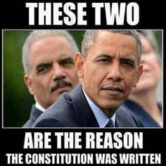 They both got away with total corruption and race baiting!
