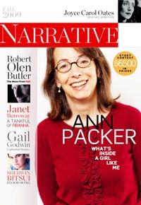 Fall 2009: Robert Olen Butler, Gail Godwin, Joyce Carol Oates, Ann Packer, Janet Burroway, Sherwin Bitsui, et al.