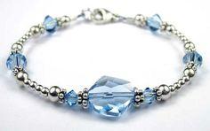 Bracelets | Swarovski Crystal Birthstone Bracelets, Austrian Crystals Birthstones ...