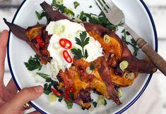 Zapečené batáty so syrom a slaninou - jesenná delikatesa!