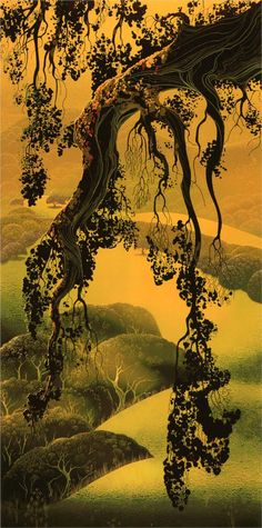 Yorktown Branch - por Eyvind Earle. Stunning!