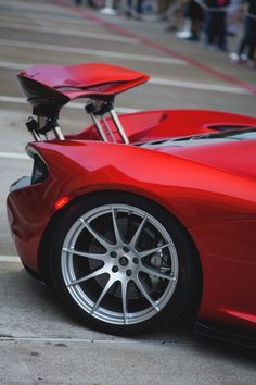 Visit The MACHINE Shop Café... (Best of McLaren @ MACHINE) McLaren P1 Supercar Rear Wing