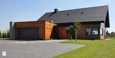 Okna drzwi elewacje , wiatrołap Domy - zdjęcie od Alpina Design ...