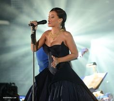 Rihanna And The Clara Lionel Foundation Presents The Inaugural Diamond Ball - December 11, 2014 - Performance - 013 - Rihanna Daily Photo Gallery - 24/7 Source for Miss Rihanna