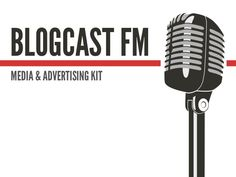 Blogcastfm Media Kit by David Crandall, via Slideshare