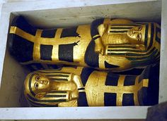 King Tut's daughters' coffins