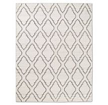 Onda Flatweave Rug - Cream - so cute but insanely expensive =(