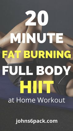 Do you find yourself not having enough time during the day to workout? If you are like most busy adults, then finding time to exercise probably gets pushed down on your priority list. But what if I told you that a 20 Minute Full Body HIIT workout is all you need to get started on …