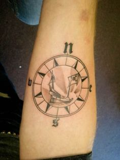 #compass #tattoo