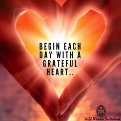 Begin each day with a grateful heart. Attitude Of Gratitude, Gratitude Quotes, Positive Quotes, Welcome Quotes, Message Quotes, Morning Affirmations, Positive Affirmations, Words Of Courage, Quotes To Live By