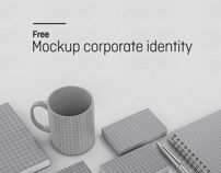 Mockup corporate identity by Vision Trust , via Behance