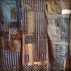 Boro with different era fabrics