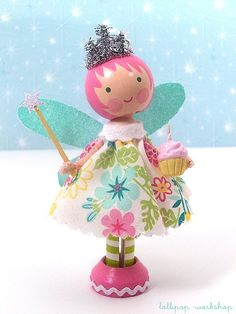 be cheery ... birthday fairy  oh my....going to have to make some of these!!!