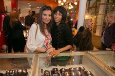 Marie-Olga Charriol and Mia Frye @ CHARRIOL's Pop Up store in Paris