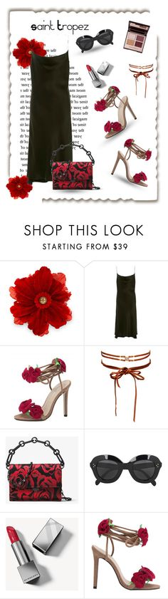 """""""ST Chic"""" by sara-cdth ❤ liked on Polyvore featuring Gucci, Protagonist, Chan Luu, Michael Kors, CÉLINE and Burberry"""