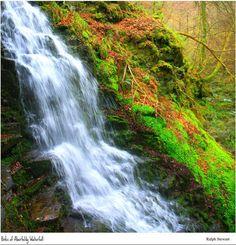 The Birks of Aberfeldy Waterfall, Aberfeldy, Perthshire