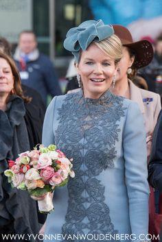 Staatsbezoek België aan Nederland - kleding koningin Máxima dag 3