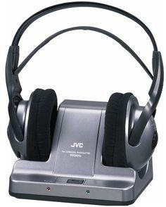 JVC HA W600RF 900MHz Stereo Wireless Headphones W Auto Tuning For Tv
