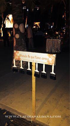 Brochas para quitarte la arena de los pies en #bodasdedestino