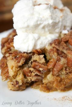 Pumpkin Crumble Cake...Thanksgiving delight!