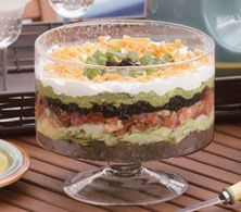 Seven Layer Taco Salad - Everyday Style Recipe Great Recipes, Favorite Recipes, Healthy Recipes, I Love Food, Good Food, Layered Taco Salads, Picnics, Soup And Salad, Mayo