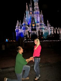 Happiest Place on EARTH! Where DREAMS come true! <3  #Engagement #Disney