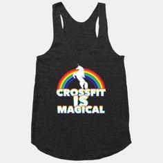 Crossfit Is Magical | HUMAN | T-Shirts, Tanks, Sweatshirts and Hoodies