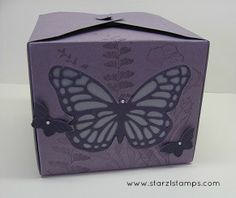 Butterfly Basics stamp set, Gift Box Punch Board, Butterflies Thinlits Dies