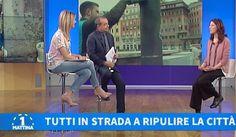 """""""Ripuliamo la città"""" speciale di Uno Mattina su Retake Roma"""