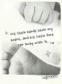 Little hands and feet