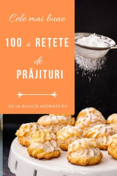 Romanian Desserts, Romanian Food, Diet Recipes, Dessert Recipes, Sweet Tarts, Biscotti, Food And Drink, Sweets, Cooking