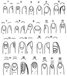Hand Reference, Drawing Reference, Body Sketches, Nails At Home, Nail Technician, Powder Nails, Acupressure, Nail Tutorials, Life Drawing