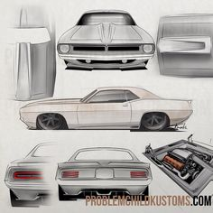 HOT ROD ART • Mopar Monday: Some fishy stuff from the...