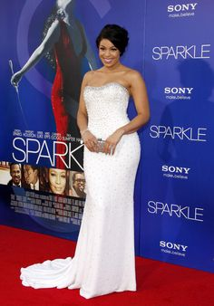 Jordin Sparks, Bobbi Kristina,Tyler Perry and More Attend 'Sparkle' Los Angeles Premiere