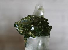 Uvite Tourmalines on Quartz
