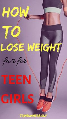 diet plans to lose weight for teens