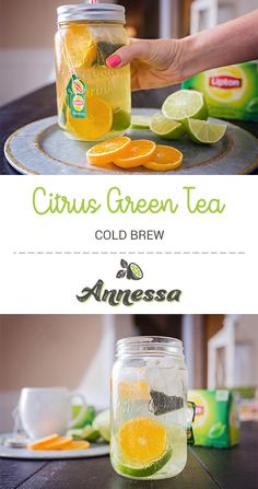 Citrus Green Tea Cold Brew – You are in the right place about tazo tea recipes Here we offer you the most beautiful pictures about the tea recipes indian you are looking for. When you examine the Citrus Green Tea Cold Brew – part of … Cold Green Tea, Green Tea Drinks, Summer Drinks, Fun Drinks, Refreshing Drinks, Healthy Drinks, Alcoholic Drinks, Healthy Detox, Cold Drinks