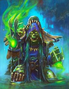 The Witchwood full art - Hearthstone Wiki