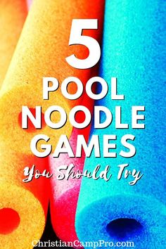 Looking for the best pool noodle games? Pool noodles are cheap, safe, and lightweight. Gather your friends and start playing these pool noodle games today. Fun Youth Group Games, Pe Games, Youth Activities, Games For Teens, Games Today, Youth Groups, Indoor Activities, Summer Activities, Large Group Games
