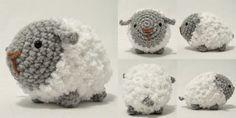Free Pattern Sheep Amigurumi by i crochet things