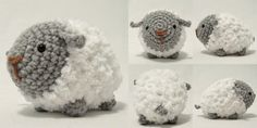 Fluffy Sheep - Free Crochet Pattern Amigurumi