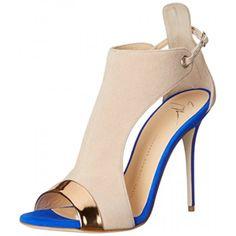Giuseppe Zanotti Women's E60263 Dress Sandal, Shooting Ramino, 7 M US
