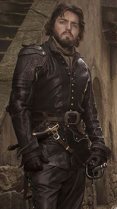 Athos...who can pick a favorite musketeer? Impossible but I always love the fact that Athos is both gentleman, warrior and has a way with words that modern people can't compete with. He is often troubled but focused at the same time...
